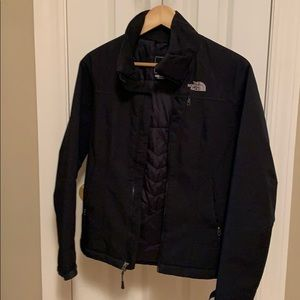The North Face women's leather Jacket